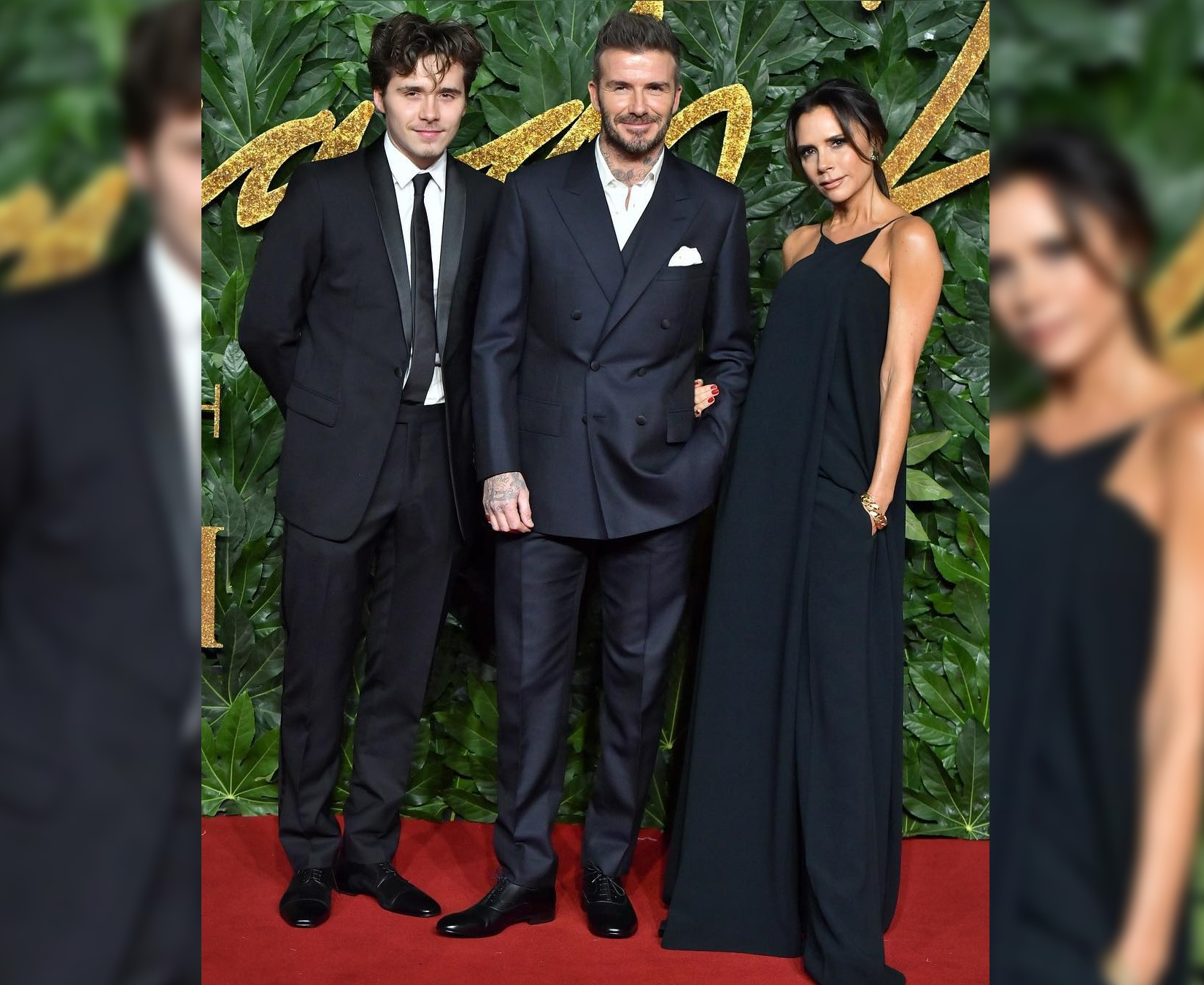 SPOTTED: The Beckhams Go Formal for The Fashion Awards 2018