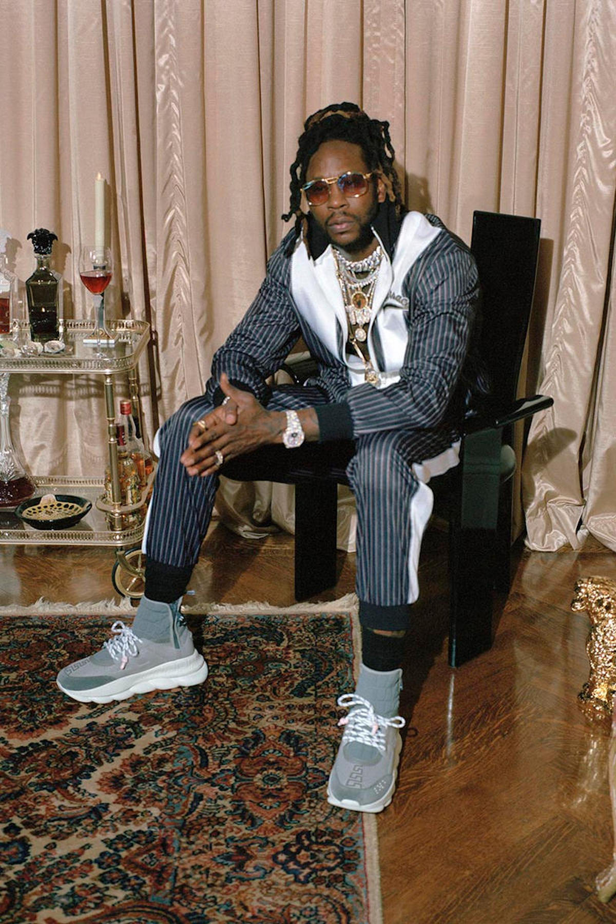 Versace & 2 Chainz Team up for Collaborative Capsule Collection