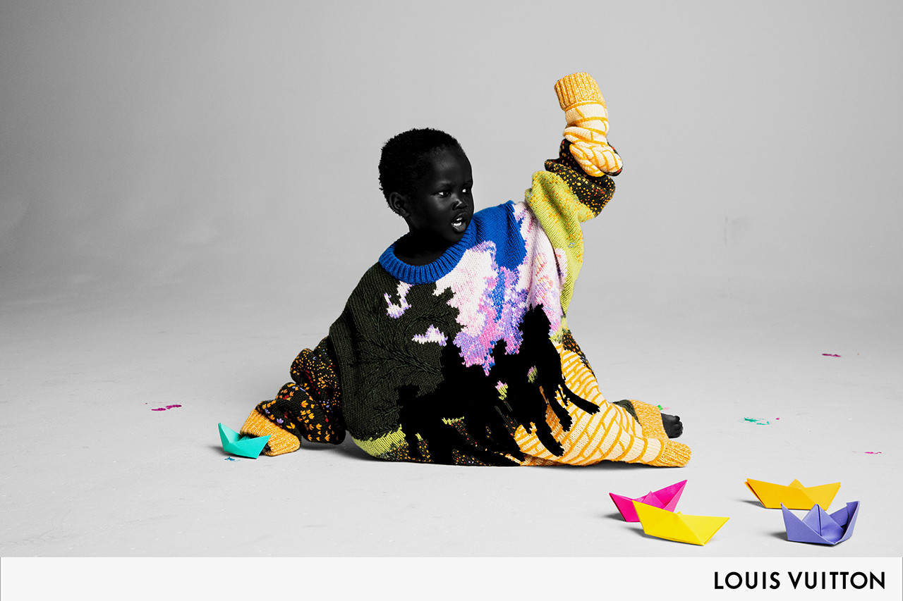 Virgil Abloh Drops his First Menswear Campaign for Louis Vuitton