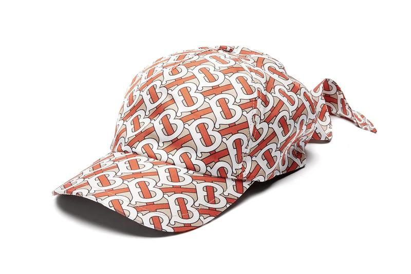 PAUSE or Skip: Burberry's All-Over Monogram Print Silk Bandana Cap