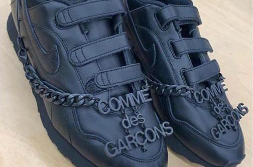 COMME des GARÇONS & Nike Unveil New Velcro-Fastened Collab Sneaker