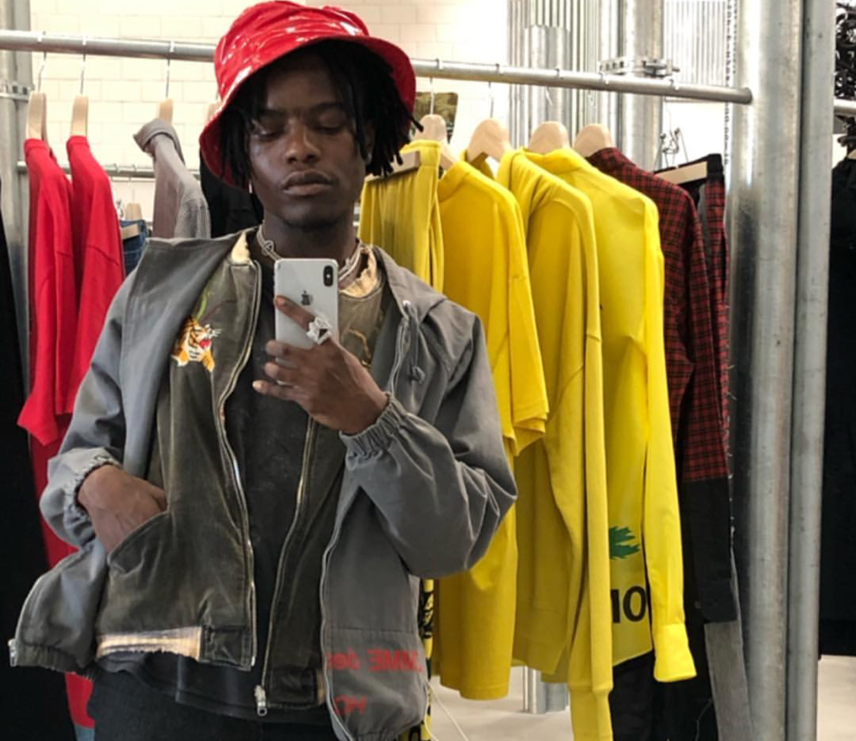SPOTTED: Ian Connor in Unreleased YEEZY 700 Sneakers