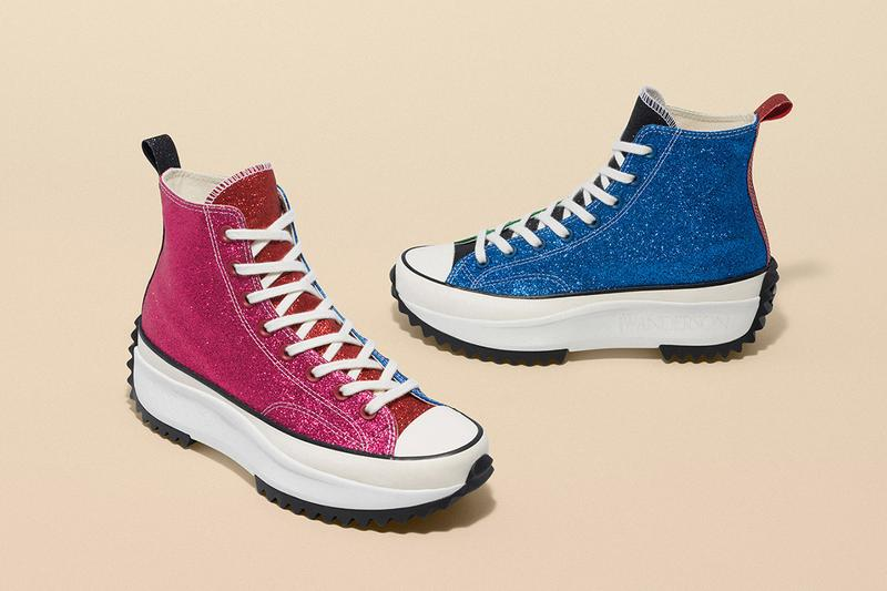 PAUSE or Skip: New JW Anderson x Converse Glitter Pack