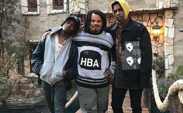 SPOTTED: ASAP Rocky, Ian Connor & Kerwin Frost in Raf Simons, Hood by Air & Gucci