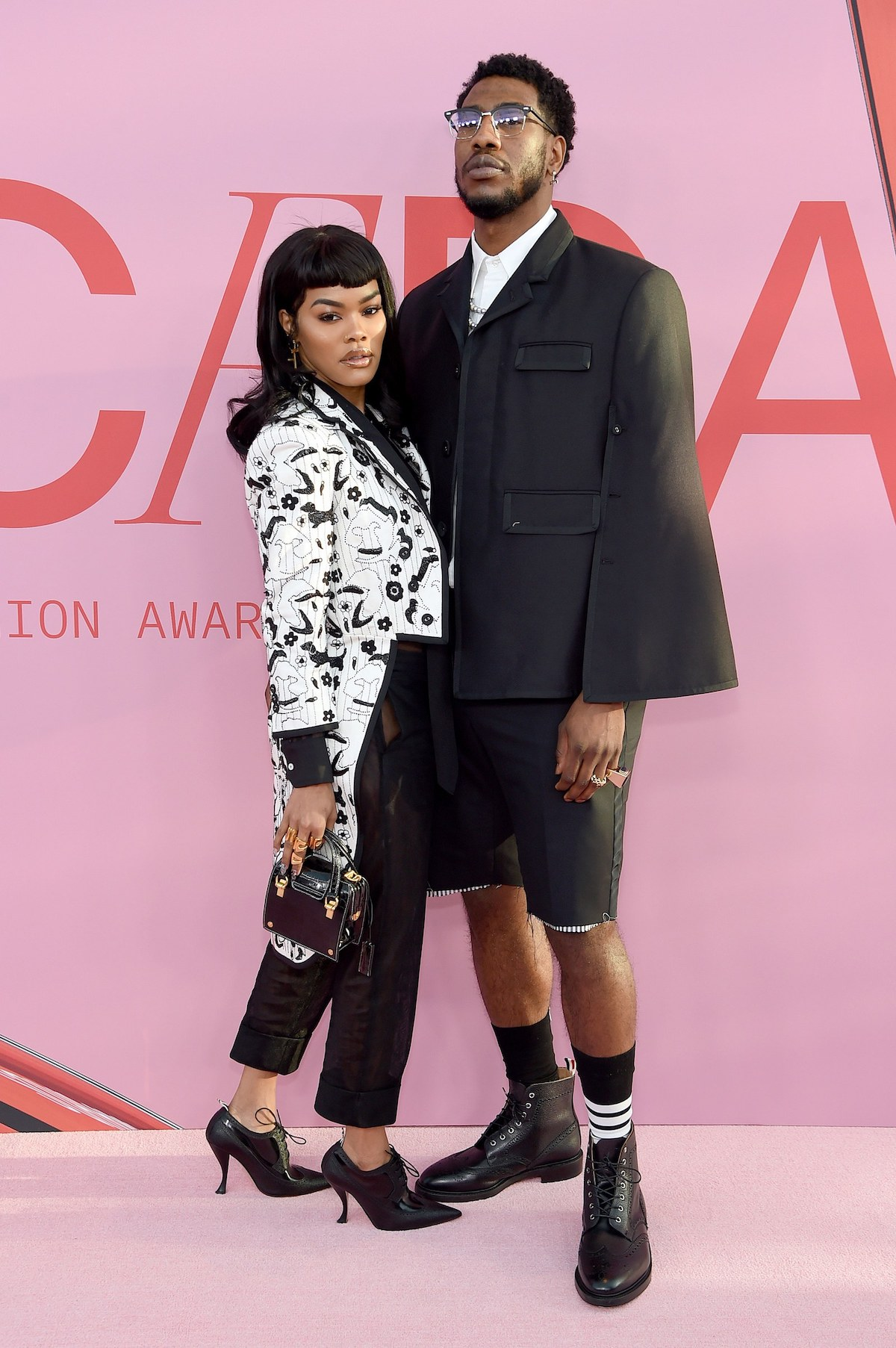 SPOTTED: Teyana Taylor Attends CFDA Awards in Thom Browne