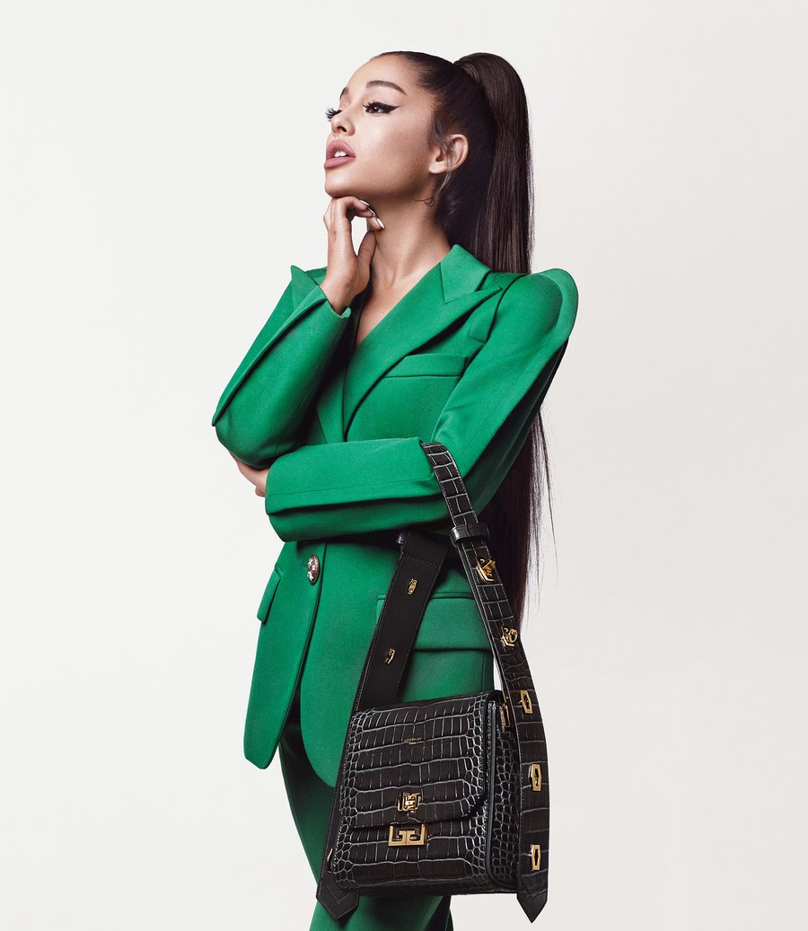 Ariana Grande's First Campaign for Givenchy has Arrived