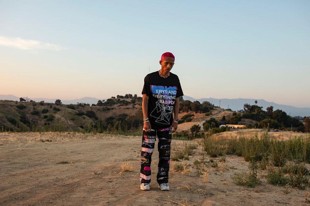 Jaden Smith Teases new ERYS Merch Via Instagram