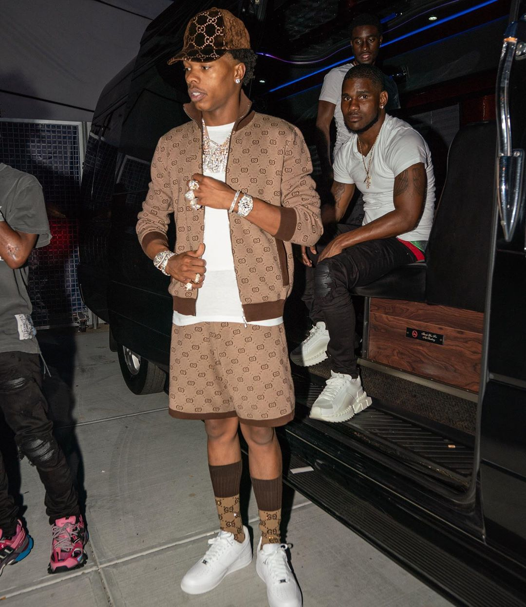 SPOTTED: Lil Baby in All-Gucci-Everything Ensemble