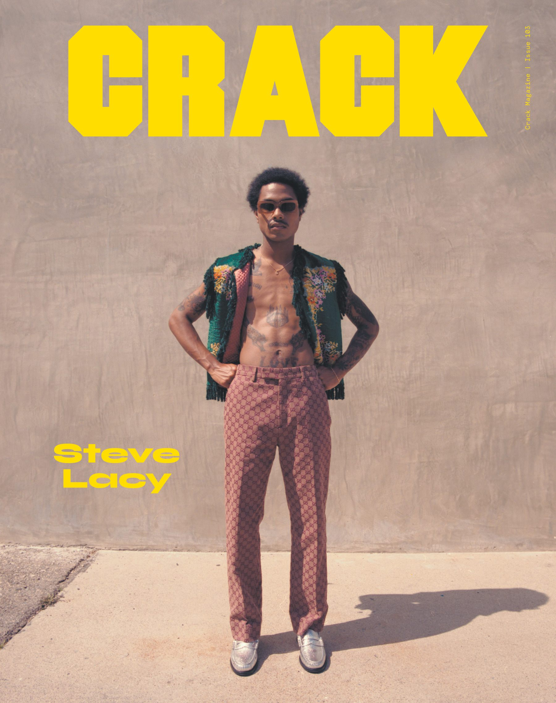 Steve Lacy Covers CRACK Magazine's Latest Issue